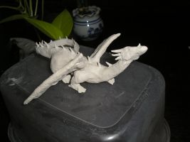 Dragon Sculpture by PikkiLo-chan