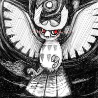 Noctowl by 13thAisha