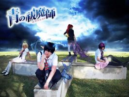 Blue - Ao no exorcist by DinyChan