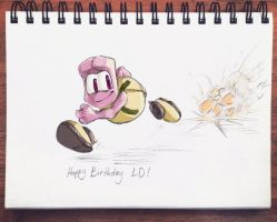 Happy Birthday LD by bloominglove