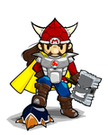 Viking Mario by dlax1
