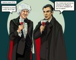 when third doctor meets Dracula by DameEleusys