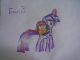 Team 3 .:Bea and Twilight:. by Amy-defy