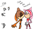Amy and Sticks Request by yurifanboy67