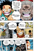 One Piece 571 Pag 3 Luffy by Spitfire95
