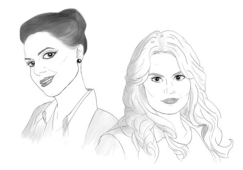 OUAT - Swan Queen (Regina and Emma) by Emmalyn