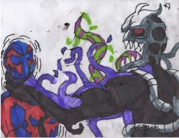Trouble with venom by ChahlesXavier