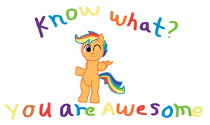 You are all awesome by Paucity-Luxuriance