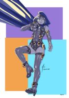 2010oct05 raven teen titan by feitian
