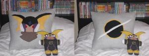 X-mas gift: Forte.EXE pillow by SLiDER-chan