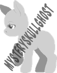 .:P2U:. Lineless Pony Base by mysteryskullghost