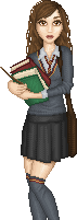 Hermione Granger by Qweia