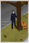 Halloween_He's Coming Home by Anko-sensei
