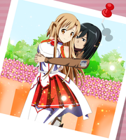 .: Asuna and Mikasa : Best Friends :. by Sincity2100