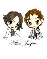 Alice and Jasper by Gray-Lily