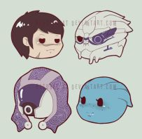 mass effect magnets by resubee