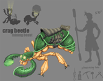Crag Beetle Concept by FutureDami