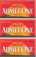 Lion King Kodak Movie Ticket Promo #1 by LionKingForLife