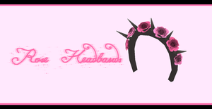 Rose headbands [ DL ] by Aia-Aria
