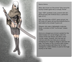Character description: Anima by Whiteman000