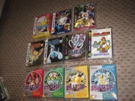Every Japanese Pokemon Gameboy Colour (GBC) Game by EdensElite