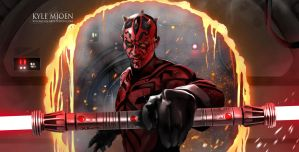 Darth Maul by kmjoen
