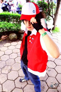 Red - Pokemon Adventures Cosplay by thynz
