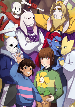 Undertale by benteja