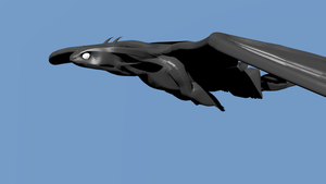 Toothless Model Messing around with the Bones by Veriothis