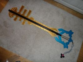 Terra's Keyblade by WaytotheDawn16