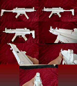 Paper MP5A3 by TheFavGentleman