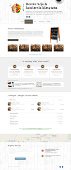Restaurant and classic cafe website by nSharky