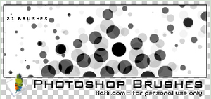 Kakii Halftone Brushes by kakiii
