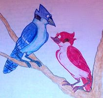 Mordecai and Margaret by addieu2
