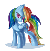 Rainbow Dash by Pauuh