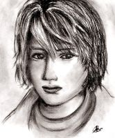 Heather of Silent Hill 3 by celeste