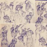 Basketball Sketches 002 by MemorySoul
