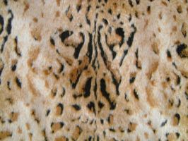 Leopard Faux Fur 1 by Rhabwar-Troll-stock