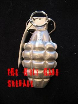 The Holy Hand Grenade by celticgoddessofmuck