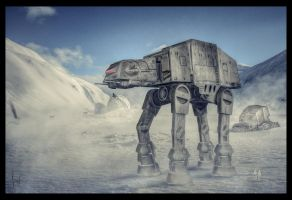 AT-AT Hoth by ChristianBT