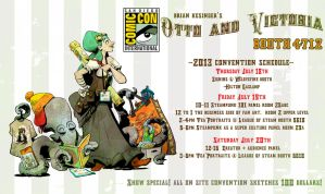 convention schedule! by BrianKesinger