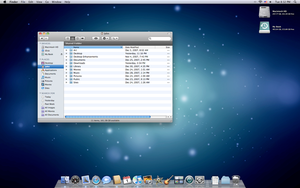 iMac January Screenshot by yc