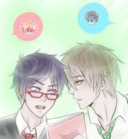 Free! Studying by SinfulHime