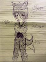 Doodle:Wolf Blade Seyo by UnitInfinity
