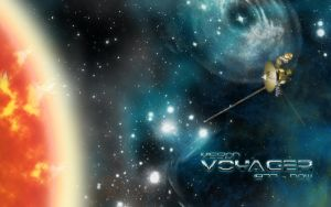 Voyager Probe Wallpaper by Bejusek