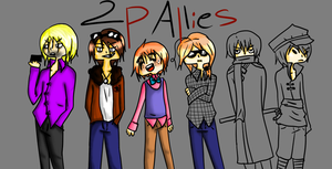 2p Allies WIP by 13rinchan