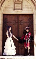 Ciel and Ciel likes doors by miwafwakes