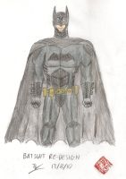 Batsuit Redesign by Jedd-the-Jedi