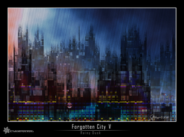 Forgotten City V - Rainy Dusk by raysheaf