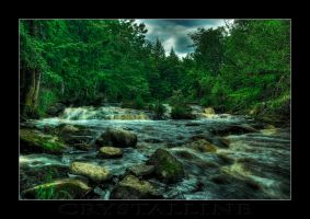 Petterson Falls    7 image HDR by C-Photography